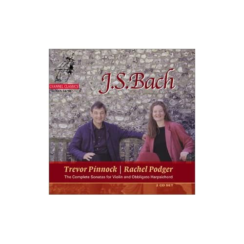 Bach - Sonates pour violon et clavecin BWV 1014-1019 416GVN7GABL._SS500_