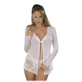 Girl Sleep Shirt and Matching Lace G-String