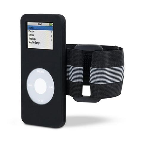 Belkin F8Z060 Sports Sleeve for iPod nanos (Black)