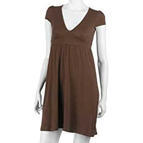 Poof Women's Cap-Sleeve Tunic Dress