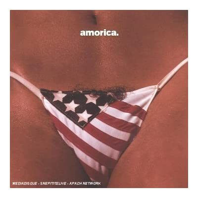 Black Crows - Amorica. Great album, really great cover.