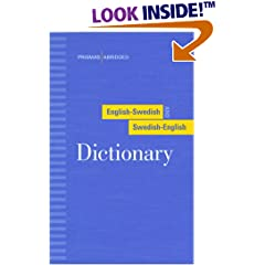English-Swedish and Swedish-English Dictionary