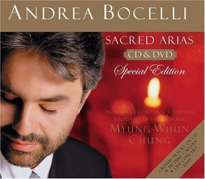 Andrea Bocelli - Sacred Arias [Special Edition with Bonus DVD] - Zortam Music