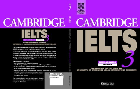 Cambridge IELTS 3 Self-study Pack: Examination Papers from the University of Cambridge Local Examinations Syndicate