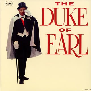 Original album cover of Duke of Earl by Gene Chandler