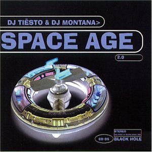 Original album cover of Space Age 2.0 by DJ Tiesto, DJ Montana