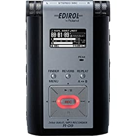 Roland R-09 24bit WAVE/MP3 Recorder