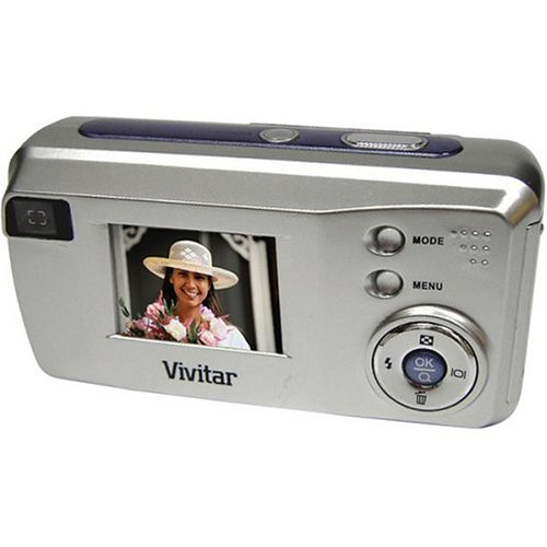 Vivitar Vivicam V3815 4MP Digital Camera with 1.4 LCD