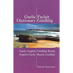 Gaelic-English - English-Gaelic Dictionary