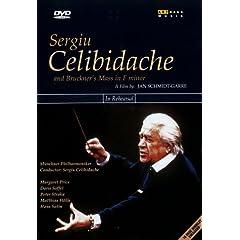 Celibidache, Sergiu dirigiert Anton Bruckner - Messe Nr.3 in f-moll