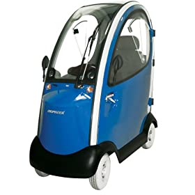 Shoprider Flagship Enclosed Scooter, Blue at Amazon.com