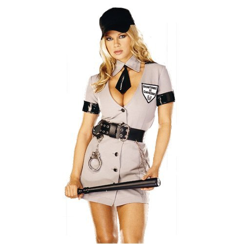 Sexy Corrections Officer Adult Costume