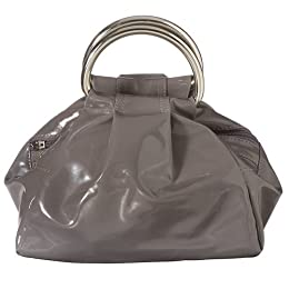 CL by Laundry D-Ring Handle Bag - Gray : Target from target.com