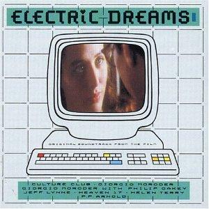 Original album cover of Electric Dreams - Soundtrack by Giorgio Moroder