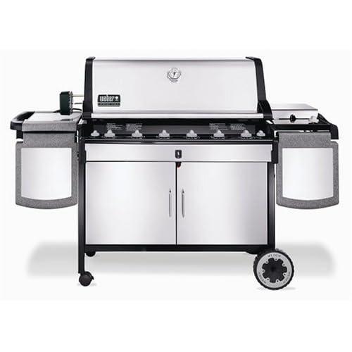 Barbecue americain Weber SUMMIT S6INOX (3262391) Darty