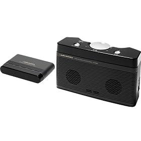 【クリックでお店のこの商品のページへ】audio-technica 赤外線コードレスステレオスピーカーシステム AT-SP550TV: 家電・カメラ