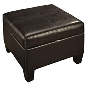 Amazon - Global Distinctions Square Storage Ottoman - $49.99 shipped