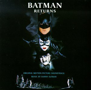 Original album cover of Batman Returns: Original Motion Picture Score by Danny Elfman