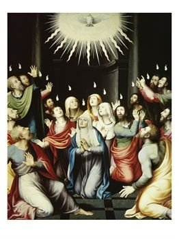 """The Pentecost"" Giclee Art Poster Print"