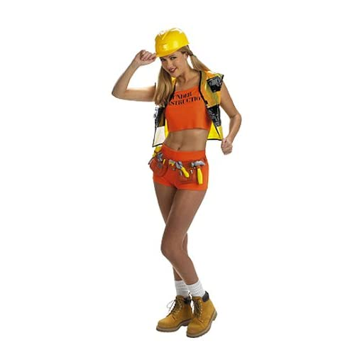 Sexy Girls Costumes : Sexy Construction Worker Costume