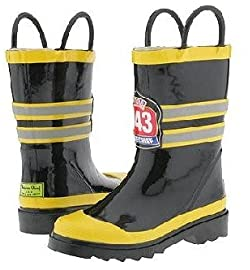 The Boot Kidz | Kids fireman rainboots
