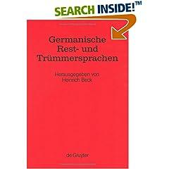 Germanische Rest- und Trümmersprachen