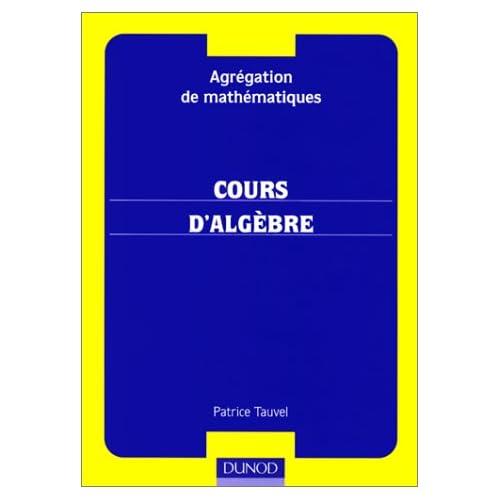 algebre pour la licence 3 groupes anneaux corps