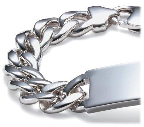 mens engraved id bracelet images
