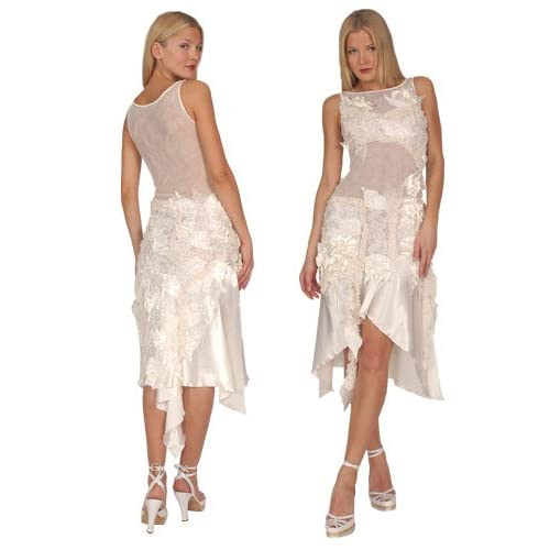Ivory Evening Dress for Wedding Party 2