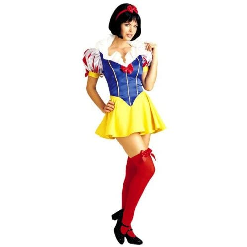 Sexy Girl in Snow White Princess Adult Costume