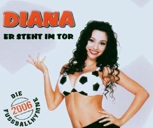 Original album cover of Er Steht im Tor by Diana