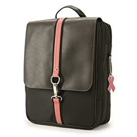 laptop bag to support breast cancer awareness