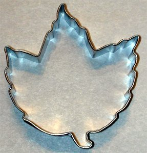 Elm Leaf Cookie Cutter