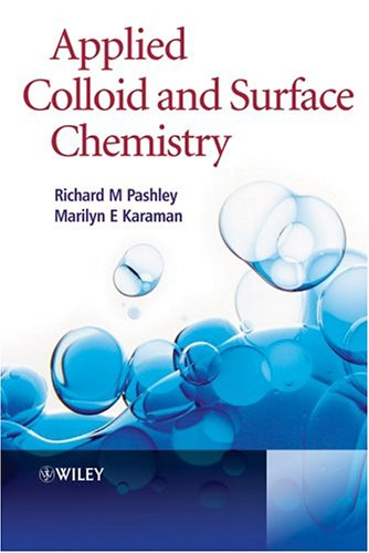 Applied Colloid and Surface Chemistry