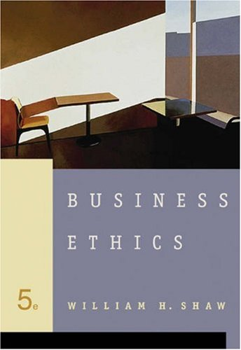 Business Ethics (with InfoTrac )