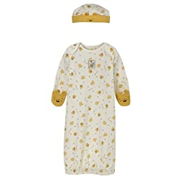 Infants' Classic Pooh™ Sleeping Gown and Cap - Multi