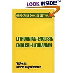 Lithuanian-English/English-Lithuanian Dictionary