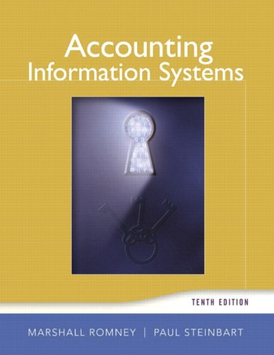 Accounting Information Systems (10th Edition) (Accounting Information Systems)
