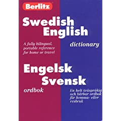 Berlitz Swedish-English Dictionary