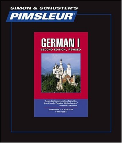Pimsleur German I Comprehensive CDs, Second Edition