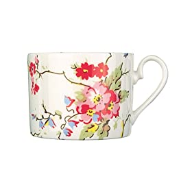 Cath Kidston Sprig Dinnerware Teacup - Blossom Fine China: Kitchen & Home