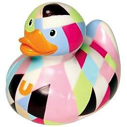 Pastel Fashion Duck Bath Toy