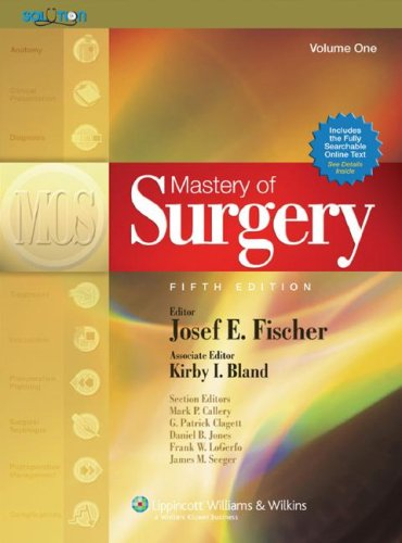 Mastery of Surgery, 2 Volume Set
