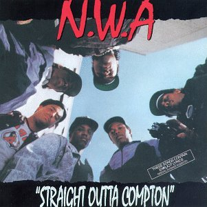 Straight Outta Compton by N.W.A album cover