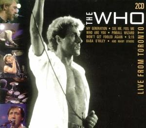 The Who - Live from Toronto - Zortam Music
