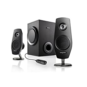 Amazon - Creative Inspire T3030 2.1 Speaker System - $29.99