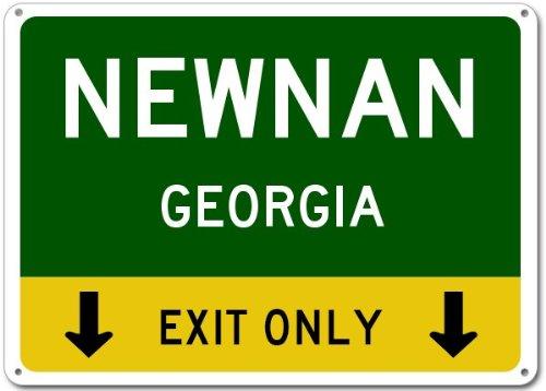 Newnan, Georgia city sign