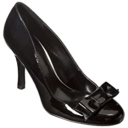 Hollywould Patent Pumps - Black : Target from target.com