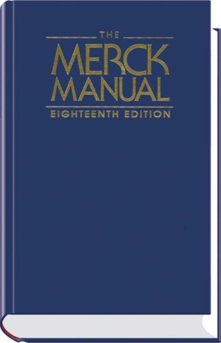 The Merck Manual 18th Edition