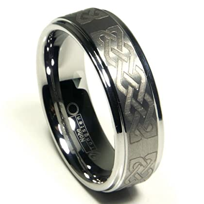 Wedding Ring Stores, tungsten, ring, celtic